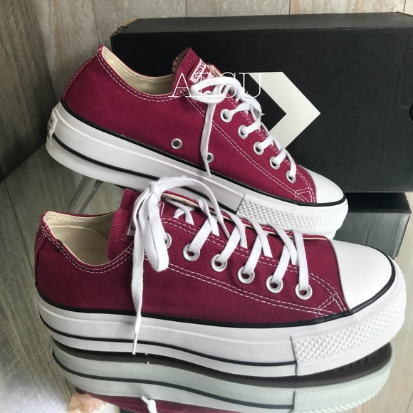 Converse Lift Ox W shoes brown
